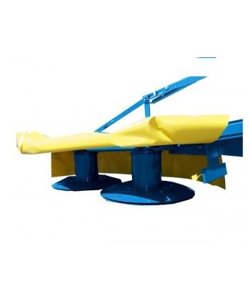PLANTADORA DE PATATAS (Ruedas de metal - 90 kg)