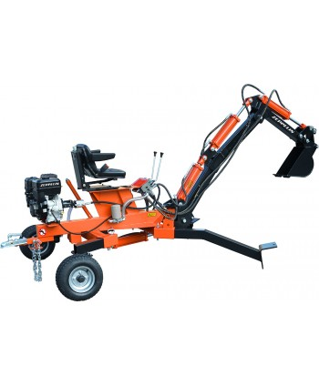 BACKHOE 10HP Engine GASOLINE
