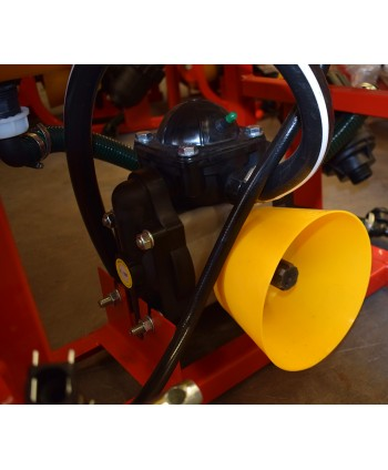 Cuchilla Derecha Rotovator 4 velocidades